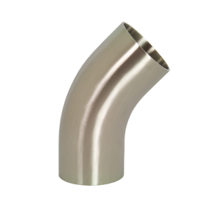 Polished 45 Degree Elbow with Tangents