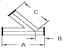 Sanitary Clamp Lateral Dimensions